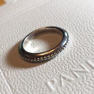 "190827 Sz 7 Retired Pandora ""forbidden"" ring"
